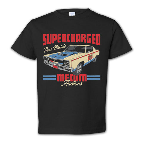 picture of mecum auctions 2020 pure muscle t-shirt