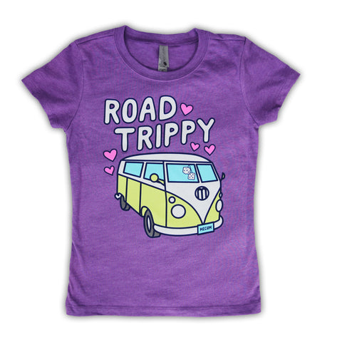 picture of mecum auctions 2020 road trippy purple t-shirt