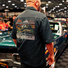 CRUISIN' CAMP SHIRT-Men's Camps-MECUM