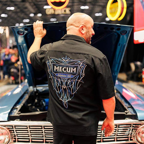 PINSTRIPE CAMP SHIRT-Men's Camps-MECUM