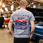 GENUINE PARTS (RED TRUCK) T-SHIRT-Men's Tees-MECUM