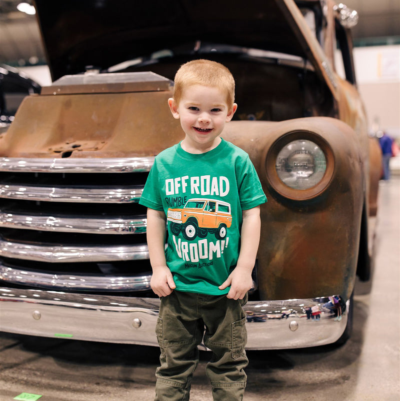 boy in mecum auctions 2020 vroom t-shirt
