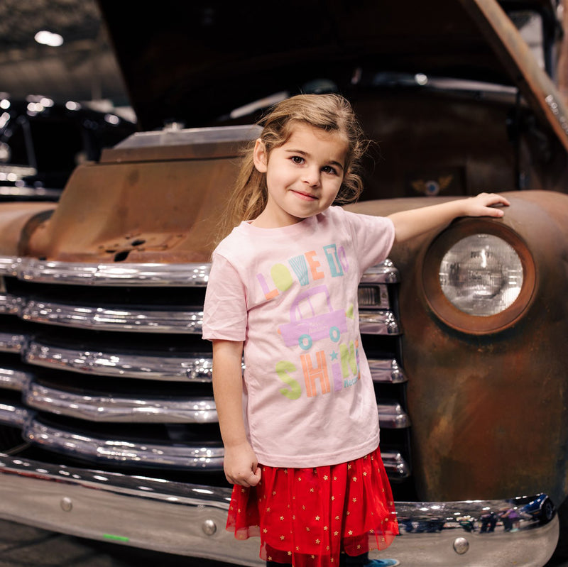 girl in mecum auctions 2020 love to shine t-shirt