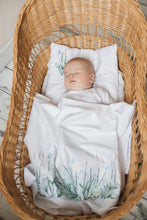 Organic baby bedding gift set