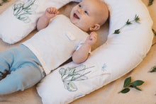 Nursing pillow with pillowcase
