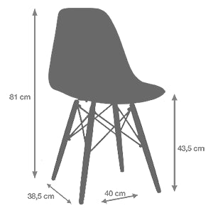 medidas silla tower wooden