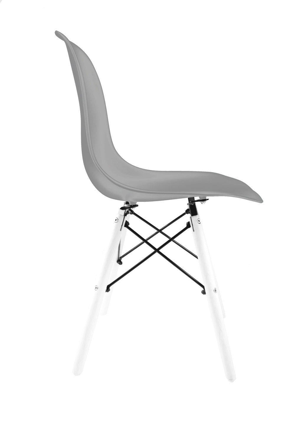 Silla Tower gris blanca