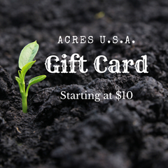 Acres USA gift card