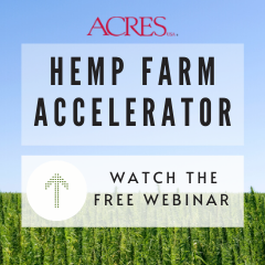 Hemp Farm Accelerator Webinar May 19