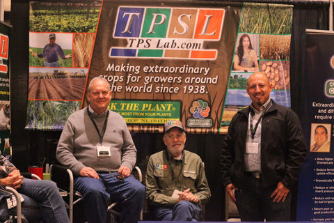 TPSL booth at trade show
