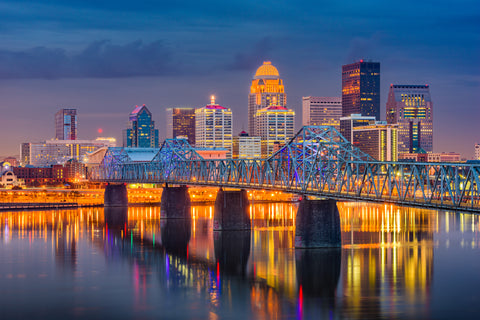 Louisville, Kentucky, skyline