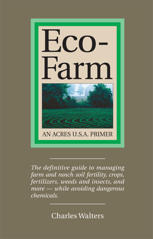 Front cover of the book Eco-Farm by Charles Walters