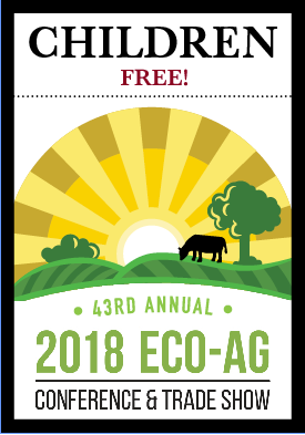 2018 Eco-Ag Conference & Trade Show — Child Registration