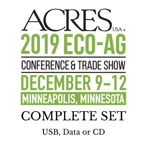 2019 Eco-Ag Conference Workshop Audio Complete Set
