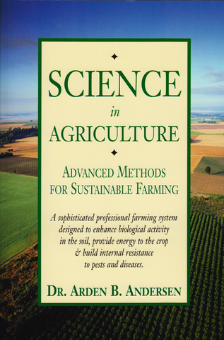 Front cover of the book Science In Agriculture by Arden B. Andersen