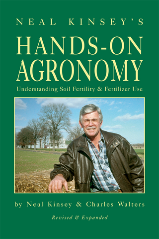 Front cover of the book Hands-On Agronomy by Neal Kinsey
