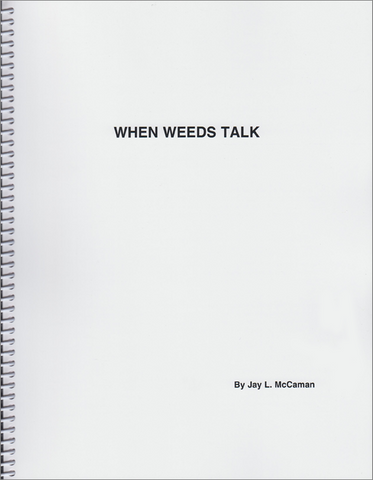 Front cover image of the book When Weeds Talk