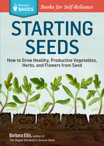 Front cover of the book Starting Seeds by Barbara W. Ellis