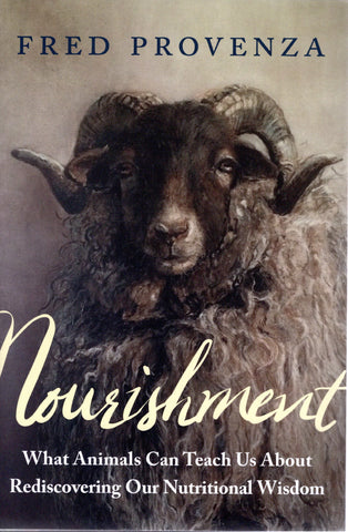 Front cover image of Nourishment book