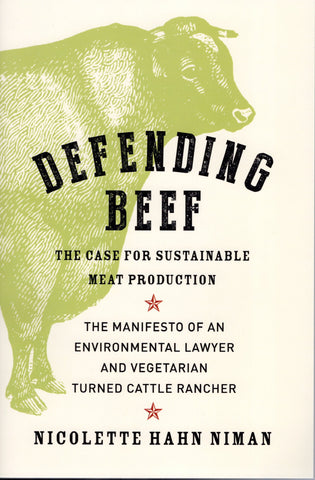 Front cover image for the book Defending Beef
