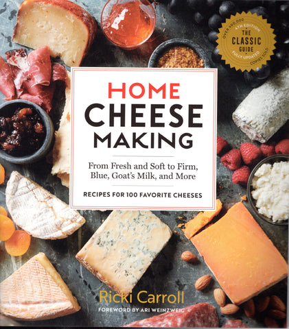 front cover image for Home Cheese Making 4th edition book