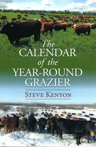 Calendar of the year-round grazier front cover