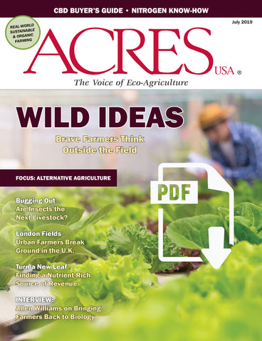 Acres USA magazine July 2019 issue