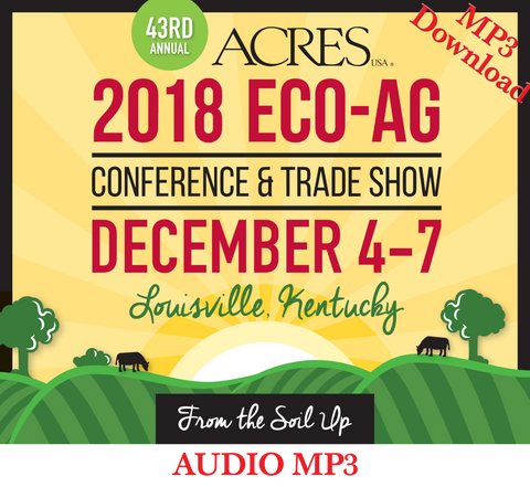 Logo for 2018 Eco-Ag Conference & Trade Show