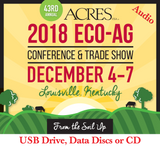 All 2018 Acres U.S.A. Conference Lecture & Workshop Audio on USB
