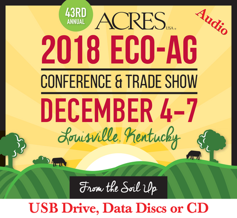 Glen Rabenberg: Decoding the Connection Between Soil and Animal Nutrition USB/CD