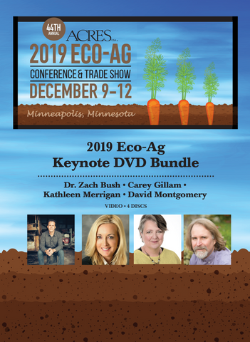 2019 Eco-Ag Keynote DVD Bundle