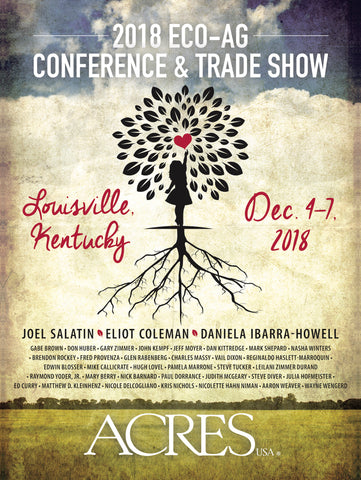 Acres U.S.A. 2018 Eco-Ag Conference poster