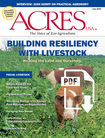 June 2019 Acres USA magazine PDF