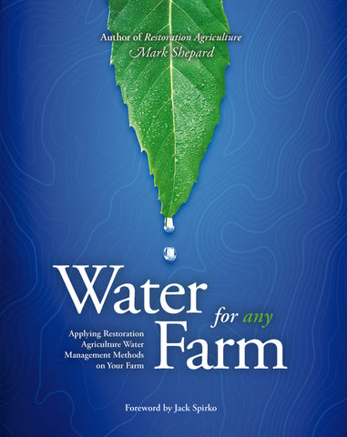 Water for Any Farm cover by Mark Shepard