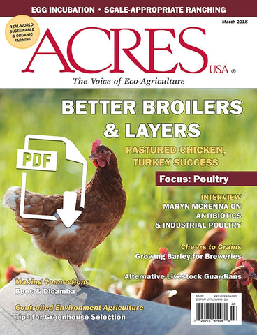 Acres U.S.A. Magazine March 2018