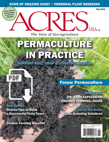 Acres U.S.A. Magazine May 2018
