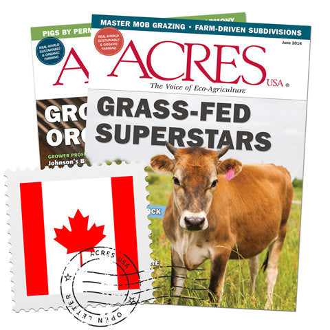 Acres U.S.A. Subscriptions for Canadian Readers
