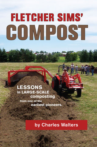 Front cover image of the book Fletcher Sims' Compost