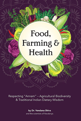 Front cover image of the book Food, Farming & Health by Vandana Shiva