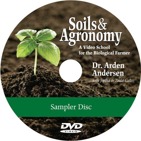 Soil and Agronomy DVD Sampler