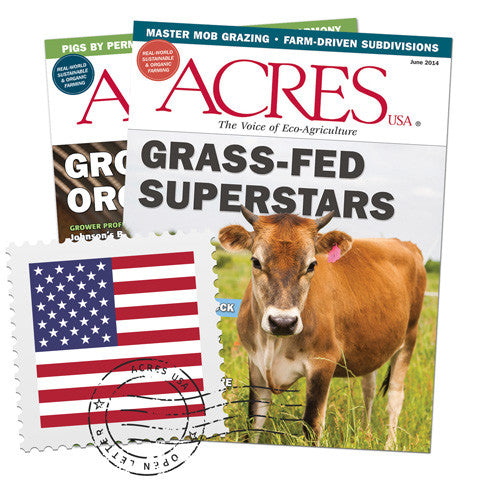 Acres U.S.A. Subscriptions for U.S. Readers