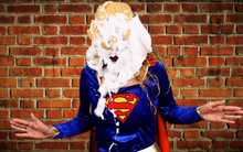 "Supergirl Gets Creamed ""Sofia"""