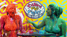 "Bikini Pie Fight 1 ""Celine vs. Gigi"""