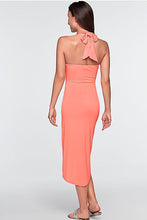 Sexy Asymmetric Halter Dress