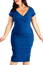 Knee Length Pencil Dress (Plus sizes available)