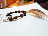 Feather & Bead Bracelet