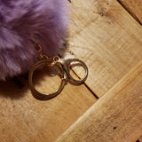 These Pom Pom's have both the clip style & ring style attachments!