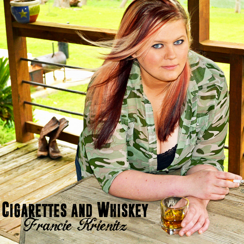 Signed CD - Cigarettes & Whiskey - Debut Album