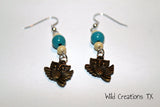 Flying Owl Dangle Earrings