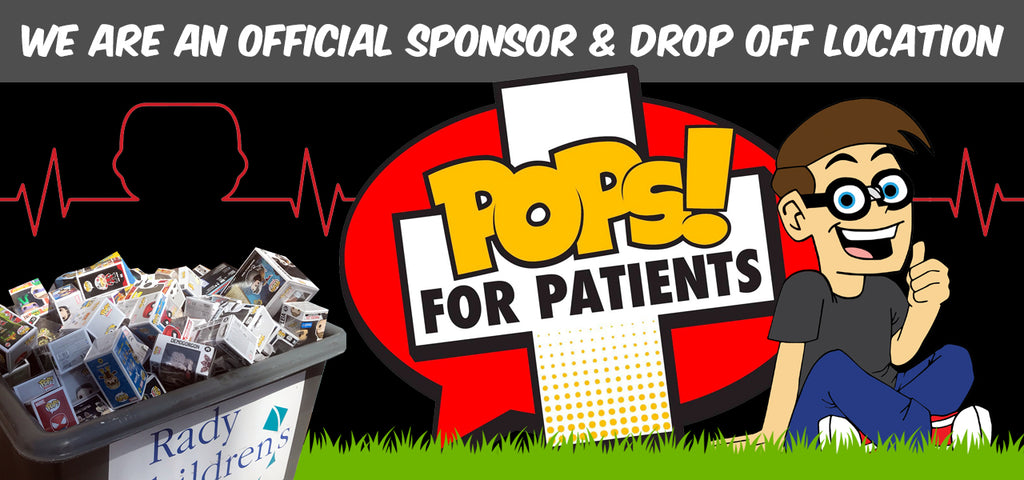 pops for patients display geek drop off
